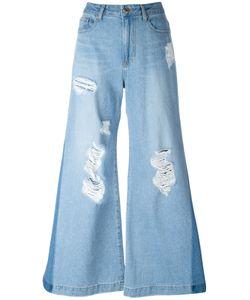 Steve J & Yoni P | Distressed Flared Jeans
