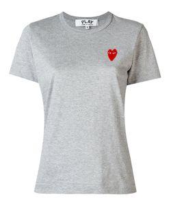 Comme Des Garçons Play | Logo Patch T-Shirt