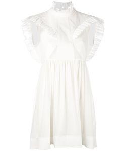 Paco Rabanne | Sleeveless Ruffle Dress