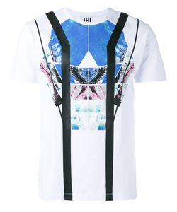 Les Hommes Urban | Graphic Print T-Shirt Small Cotton