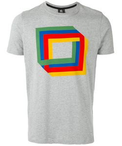PS Paul Smith   Ps By Paul Smith Square Print T-Shirt