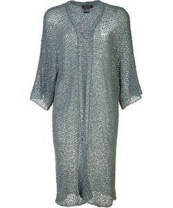Avant Toi | Open Knit Cardi-Coat Size Medium