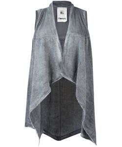 Lost And Found Rooms   Lost Found Rooms Asymmetric Hem Waistcoat Xs