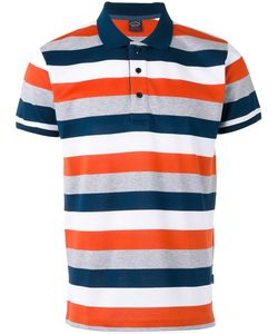 Paul & Shark | Horizontal Stripe Polo Shirt Xxl