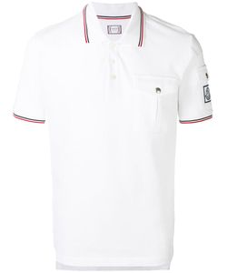 Moncler Gamme Bleu | Contrast Piping Polo Shirt