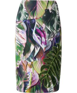 Martha Medeiros | Foliage Judith Pencil Skirt Size 42
