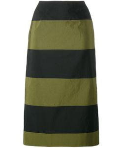 Dries Van Noten | Scranton Long Stripe Skirt Size 40