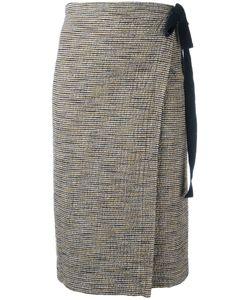 Humanoid | Wrap Skirt Small Cotton/Polyamide/Elastolefin