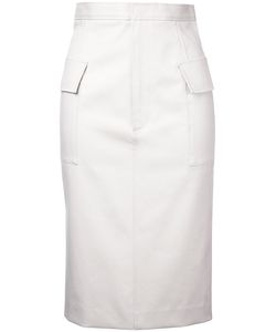 Astraet | Pencil Skirt 0 Cotton