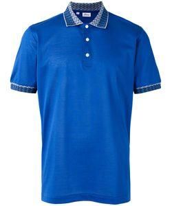 Brioni   Collar Detail Polo Shirt Size Xxl