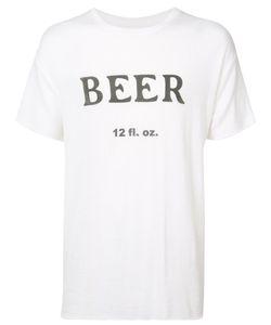The Elder Statesman | Beer Print T-Shirt