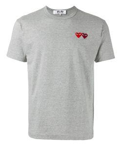 Comme Des Garçons Play   Double Heart T-Shirt Size Xl