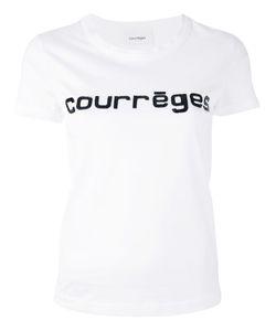 Courrèges | Logo Print T-Shirt Size 2