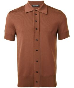 Neil Barrett | Button-Down Polo Top Size Small