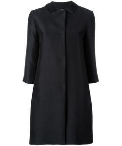 'S Max Mara | S Max Mara Three-Quarter Sleeve Coat 40 Silk/Virgin