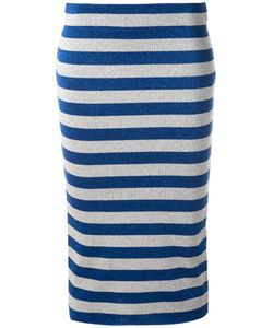 Laneus | Striped Skirt Size 42