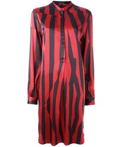 Ann Demeulemeester Blanche | Striped Button Front Dress Size 40