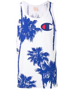 Champion | Palm Tree Print Vest Size Large