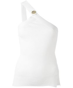 Each X Other | Ribbed Knit One Shoulder Top