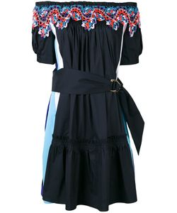 Peter Pilotto | Embroidered Off Shoulder Dress Size 6