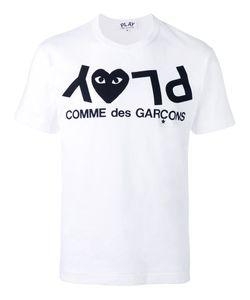 Comme Des Garçons Play | Play Logo Print T-Shirt