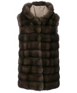 Manzoni 24 | Hooded Sleeveless Jacket