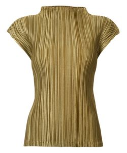 Pleats Please By Issey Miyake | Short-Sleeved Top Size 3