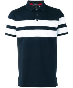 Paul & Shark | Striped Polo Shirt Large Cotton