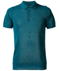 Roberto Collina | Net Polo Shirt Size 54