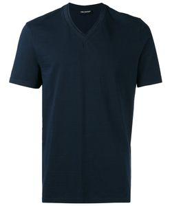 Neil Barrett | Double V-Neck T-Shirt Large Cotton
