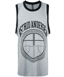 Astrid Andersen | Basket Logo Tank Medium Cotton/Spandex/Elastane