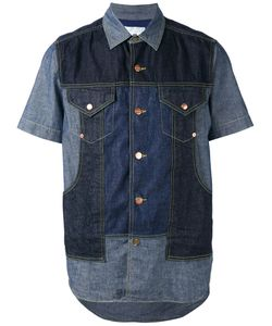 Ganryu Comme Des Garcons | Denim Panel Shirt