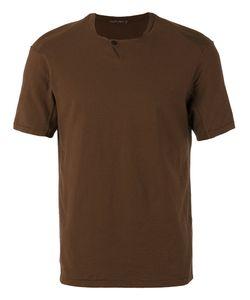 Transit   Button Detail T-Shirt Size Small