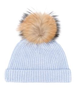 N.Peal | Detachable Pom Ribbed Hat