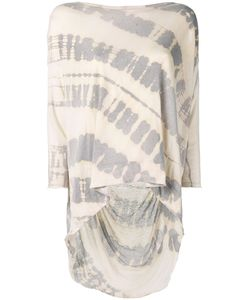 Raquel Allegra | Tie-Dye Shredded T-Shirt