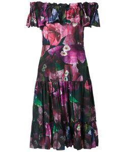 Isolda   Off The Shoulder Flared Dress