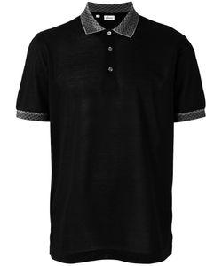 Brioni   Collar Detail Polo Shirt Size Xl
