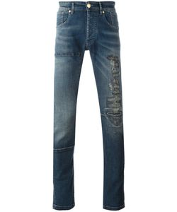 Pierre Balmain | Distressed Finish Jeans 33 Cotton/Spandex/Elastane