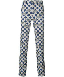 Comme Des Garçons Homme Plus | Polka Dot Fish Print Trousers