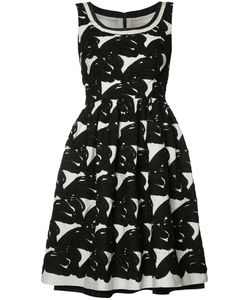 Carolina Herrera | Sleeveless Jacquard Dress Size 10