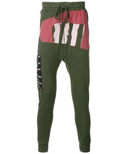 11 By Boris Bidjan Saberi   Printed Drop-Crotch Sweatpants
