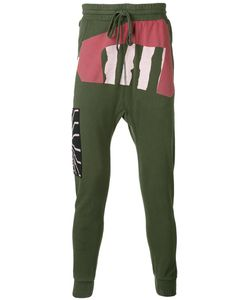 11 By Boris Bidjan Saberi | Printed Drop-Crotch Sweatpants