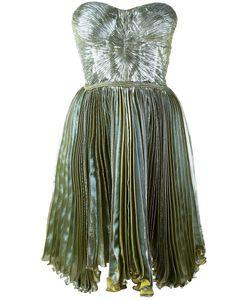 Maria Lucia Hohan   Loliambrosia Pleated Bandeau Dress 36