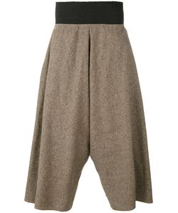 Bless | Tweed Wide Leg Cropped Trousers