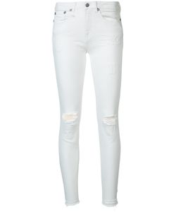 R13 | Distressed Skinny Jeans Size 28