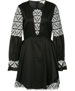 Jonathan Simkhai | Embroidered Flared Dress