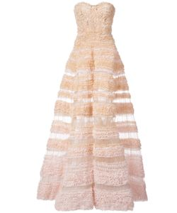 J. Mendel | Ruched A-Line Ball Gown Women