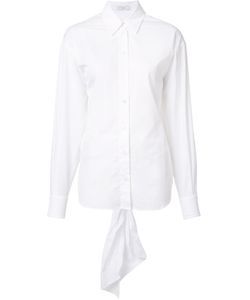 Tome | Open Back Bow Shirt