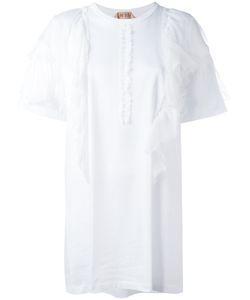 No21 | Front Ruffle T-Shirt Size 40