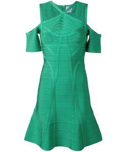 Hervé Léger | Cold-Shoulder Dress
